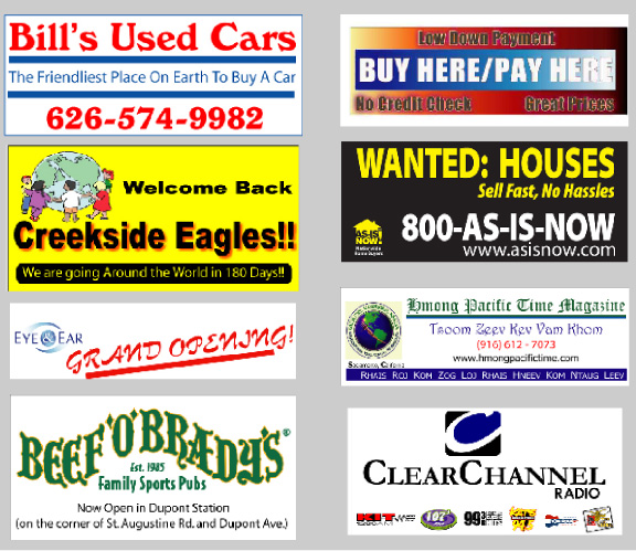 Promotion And Advertising With Custom Printed Full Color